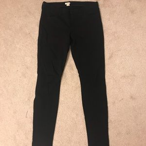 J. Crew black pants, with stretch. No defects.
